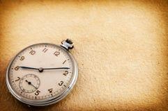 Vecchio orologio da tasca Fotografia Stock Libera da Diritti