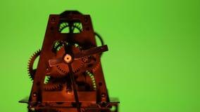 Vecchio orologio del cronometro video d archivio