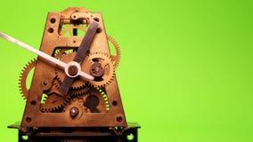 Vecchio orologio del cronometro illustrazione di stock