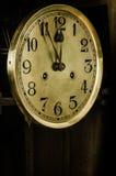 Vecchio orologio del quadrante Fotografia Stock Libera da Diritti