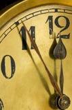 Vecchio orologio del quadrante Immagini Stock Libere da Diritti