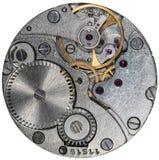 Vecchio orologio dell'URSS del movimento a orologeria, sveglia Fotografia Stock Libera da Diritti