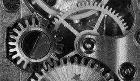Vecchio orologio dell'URSS del movimento a orologeria, sveglia Immagine Stock Libera da Diritti