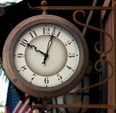 Vecchio orologio della via Immagini Stock
