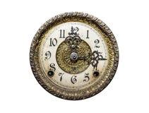 Vecchio orologio di parete Fotografia Stock Libera da Diritti