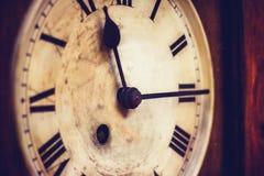Vecchio orologio di prima generazione Immagine Stock