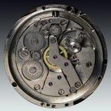 Vecchio orologio meccanico del movimento a orologeria Immagine Stock