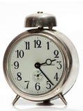 Vecchio orologio metallico Immagini Stock Libere da Diritti