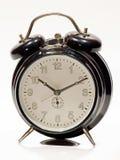 Vecchio orologio nero Fotografie Stock Libere da Diritti