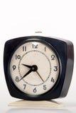 Vecchio orologio nero Immagine Stock
