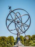 Vecchio orologio solare Fotografie Stock