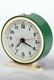 Vecchio orologio verde Fotografia Stock