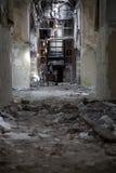 Vecchio ospedale abbandonato Fotografie Stock Libere da Diritti