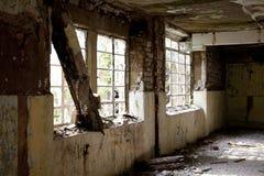 Vecchio ospedale abbandonato Fotografia Stock