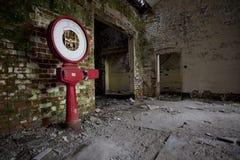 Vecchio ospedale abbandonato Fotografia Stock Libera da Diritti