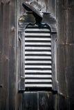 Vecchio otturatore del granaio Fotografia Stock Libera da Diritti