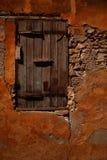 Vecchio otturatore della finestra Fotografia Stock Libera da Diritti