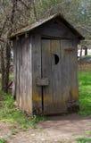 Vecchio Outhouse Immagine Stock