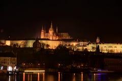 Vecchio paesaggio di Praga Immagine Stock