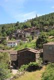 Vecchio paesino di montagna Fotografia Stock