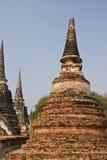 Vecchio Pagoda a Ayutthaya Fotografie Stock