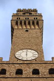 vecchio palazzo της Φλωρεντίας Στοκ Φωτογραφία