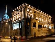 Vecchio palazzo Fotografia Stock