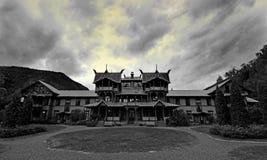 Vecchio palazzo immagine stock