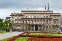 Vecchio palazzo, Belgrado, Serbia immagine stock libera da diritti