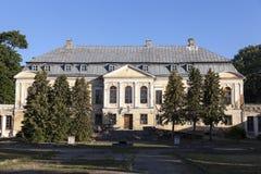 Vecchio palazzo, Bielorussia Fotografia Stock Libera da Diritti
