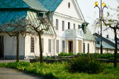 Vecchio palazzo di lusso Fotografie Stock