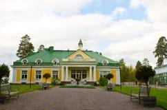 Vecchio palazzo finlandese Fotografie Stock
