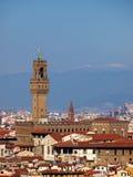 vecchio palazzo florence Италии Стоковая Фотография RF