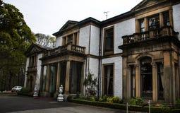 Vecchio palazzo in Scozia fotografie stock libere da diritti