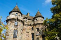Vecchio palazzo scozzese fotografia stock
