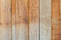 Vecchio pannello del legno duro del primo piano per l'utente del fondo Immagini Stock Libere da Diritti