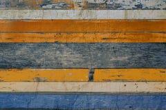 Vecchio pannello di legno Immagini Stock Libere da Diritti