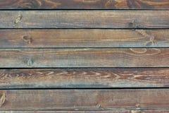 Vecchio pannello piano di legno della plancia Fotografie Stock Libere da Diritti