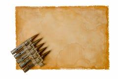 Vecchio Paper-36 Fotografia Stock
