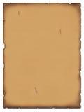 Vecchio papiro Fotografie Stock Libere da Diritti