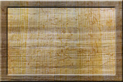 Vecchio papiro Fotografia Stock Libera da Diritti