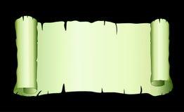 Vecchio papiro di vettore Fotografie Stock