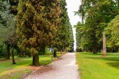 Vecchio parco in Italia Immagini Stock Libere da Diritti