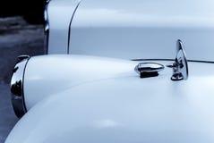 Vecchio particolare dell'automobile Fotografia Stock