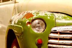 Vecchio particolare dell'automobile Fotografia Stock Libera da Diritti