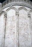 Vecchio particolare della chiesa Mosca Kremlin Fotografie Stock