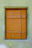 Vecchio particolare della finestra Fotografie Stock