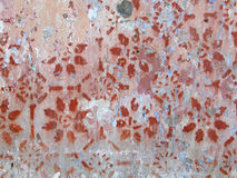Vecchio particolare della parete fotografia stock libera da diritti