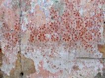 Vecchio particolare della parete fotografie stock libere da diritti