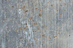 Vecchio pavimento del cemento di danno Fotografia Stock Libera da Diritti